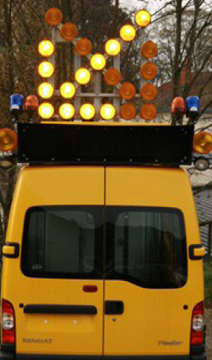 Fabricant de flèche lumineuse pour circulation routière
