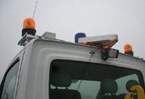 Triangle lumineux pour véhicule à progression lente